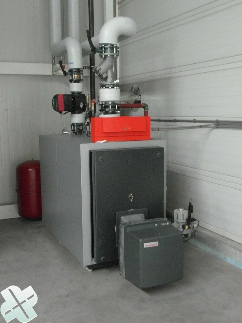 heating boiler on gas or oil