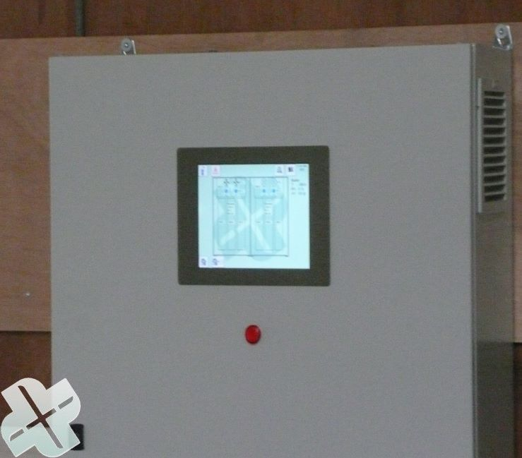 Switchboard with touch screen.1